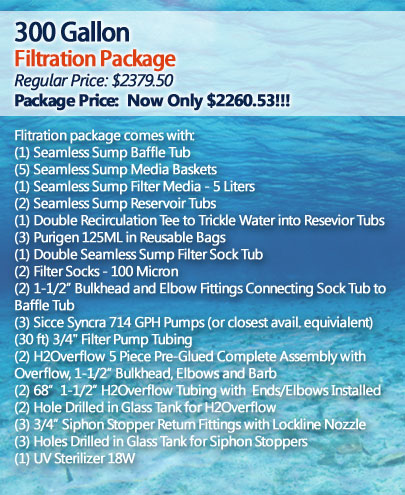 300 Gallon Filtration Package