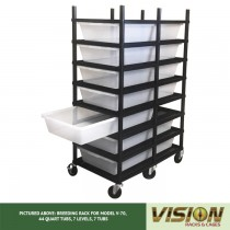 7 Level Breeding Rack (for Qty. 7, Model V-70, 44 Quart Tubs)