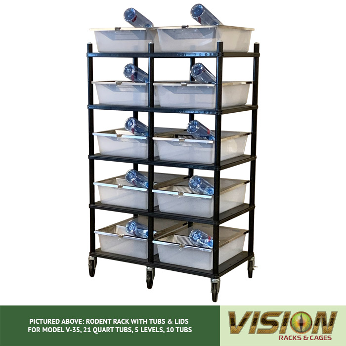v-35 rodent breeding racks
