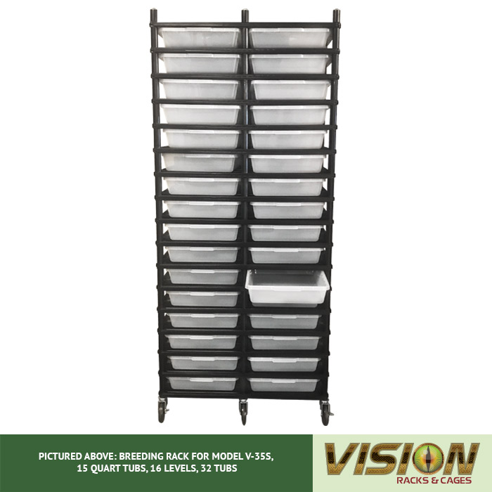 v-35s rodent breeding racks