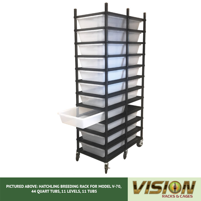 v-70 breeding racks