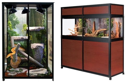 hybrid reptile enclosures