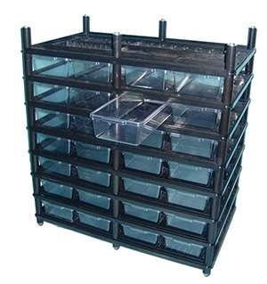 snake racks for boas and pythons