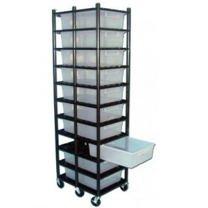 Vision Products 10 Level Sterilite 1755 Breeding Rack