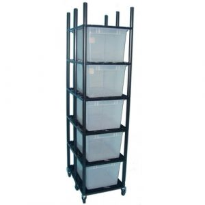 Vision Products 5 Level Sterilite 1757 Breeding Rack