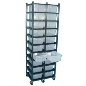 Vision Products 10 Level Sterilite 1753 Breeding Rack