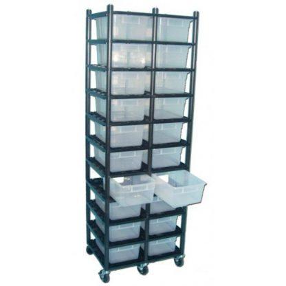 Vision Products 10 Level Sterilite 1753 Breeding Rack