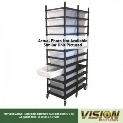 Vision Products 13 Level V-70 Breeding Rack