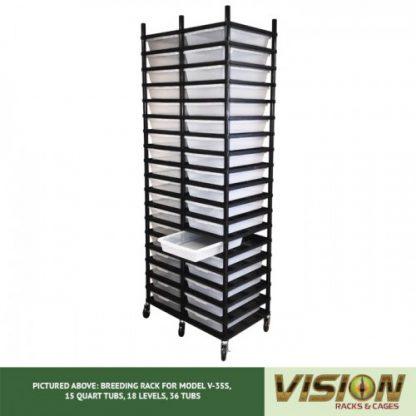 Vision Products 18 Level V-35S Hatchling Rack