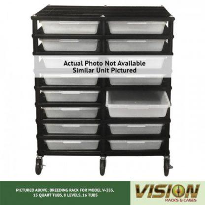 Vision Products 8 Level V-35S Hatchling Rack