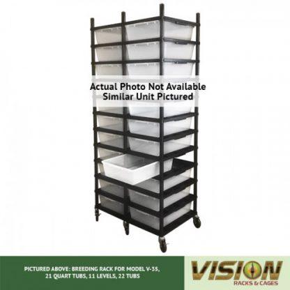 Vision Products 13 Level V-35 Breeding Rack