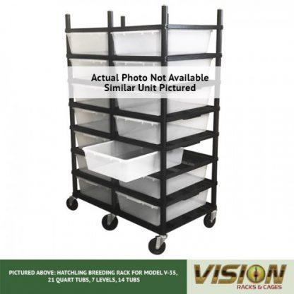 Vision Products 5 Level V-35 Breeding Rack