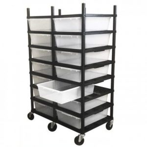 Vision Products 7 Level V-35 Breeding Rack