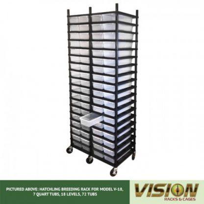 Vision Products 18 Level V-18 Hatchling Rack
