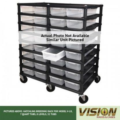 Vision Products 10 Level V-18 Hatchling Rack