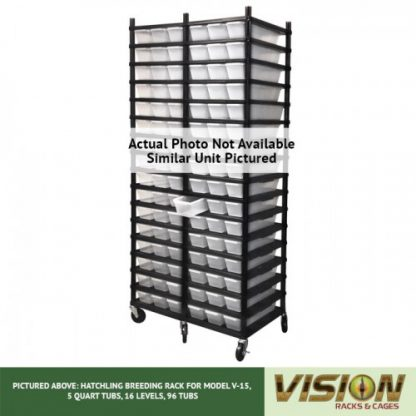 Vision Products 18 Level V-15 Hatchling Rack