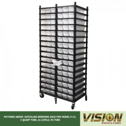 Vision Products 16 Level V-15 Hatchling Rack