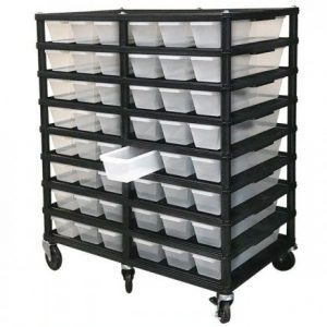 Vision Products 8 Level V-15 Hatchling Rack
