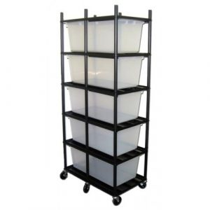 Vision Products 5 Level Iris CB-80 Breeding Rack