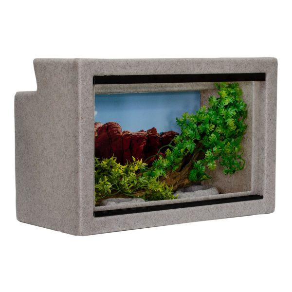 Vision Cage Model 111 - Classic Gray - Landscaped