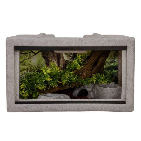 Vision Cage Model 211 - Classic Gray - Landscaped