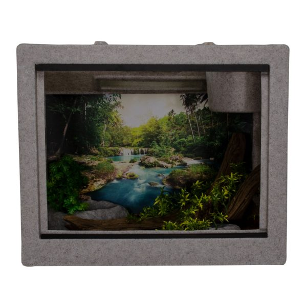 Vision Cage Model 222 - Classic Gray - Landscaped