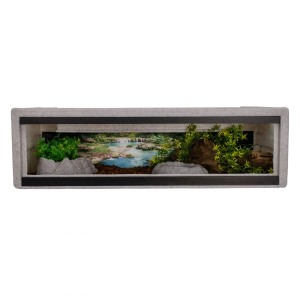 Vision Cage Model 400 - Classic Gray - Landscaped