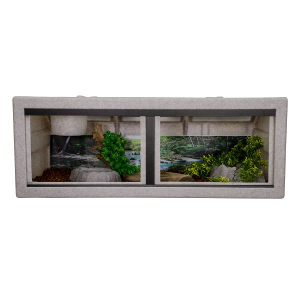 Vision Cage Model 422 - Classic Gray - Landscaped