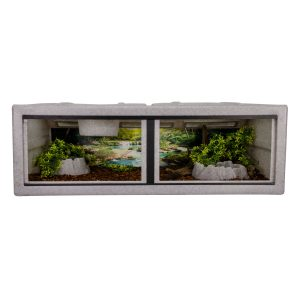 Vision Cage Model 432 - Classic Gray - Landscaped
