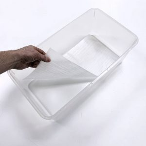 Vision Products V-Rat Tub Liner in Clear Rat Tub
