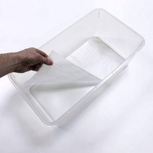 Vision Products V-Rat Tub Liner in Clear Rat Tub