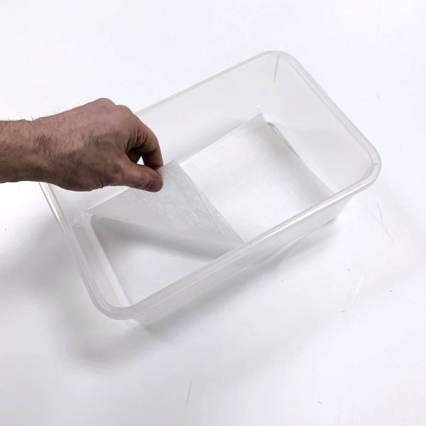 Vision Products V-Mouse Tub Liner in Clear Mouse Tub