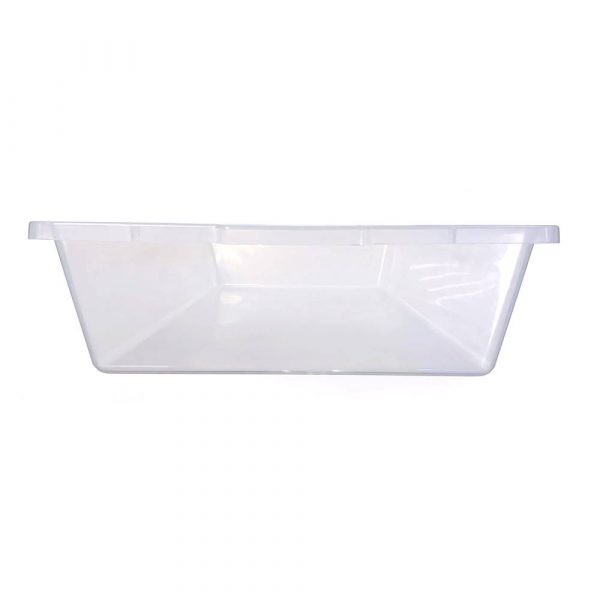 Vision Products V-70 Clear Snake Breeding Tub - End