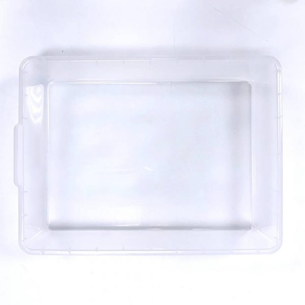 Vision Products V-35S Clear Hatchling Snake Tub - Top
