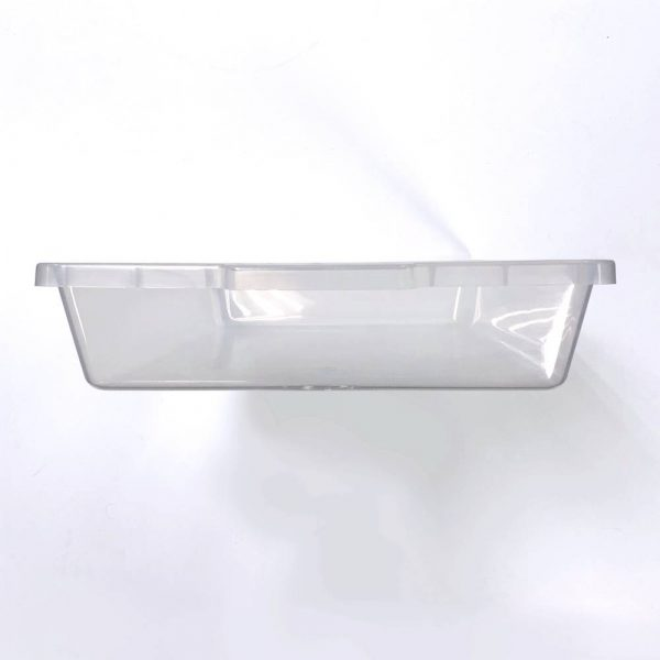 Vision Products V-35S Clear Hatchling Snake Tub - End