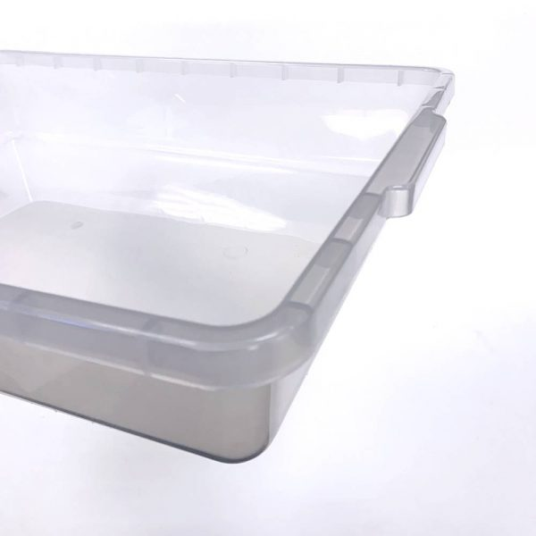 Vision Products V-35S Clear Hatchling Snake Tub - Handle