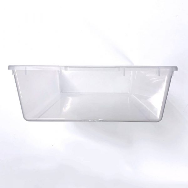 Vision Products V-35 Clear Snake Breeding Tub - End