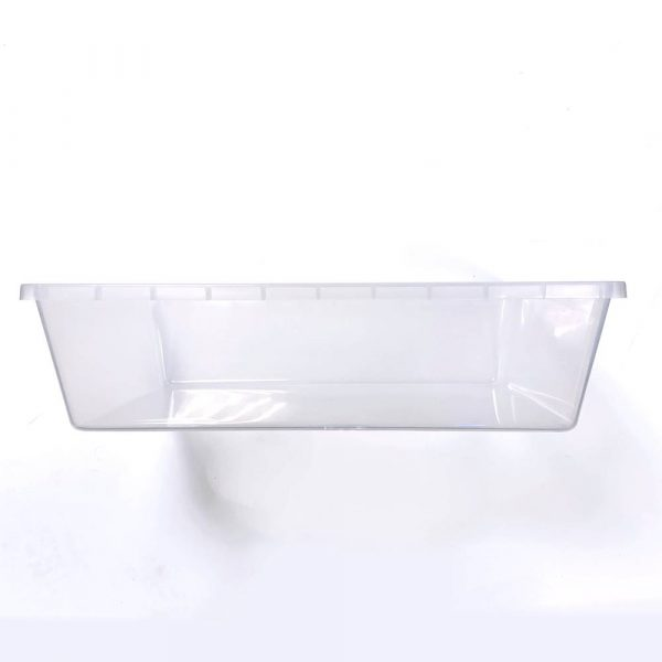 Vision Products V-28 Clear Snake Breeding Tub - Side
