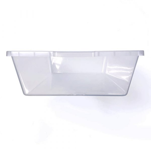 Vision Products V-28 Clear Snake Breeding Tub - End