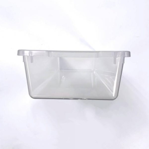 Vision Products V-18 Clear Hatchling Snake Tub - End