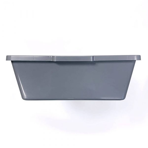Vision Products V-28 Gray Snake Breeding Tub - End
