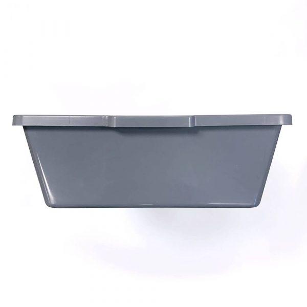 Vision Products V-28 Gray Snake Breeding Tub - End