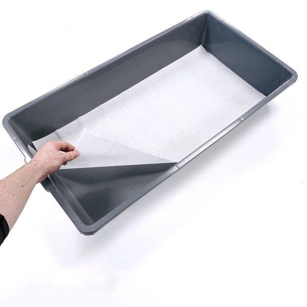 V-70 breeding tub liner in gray tub