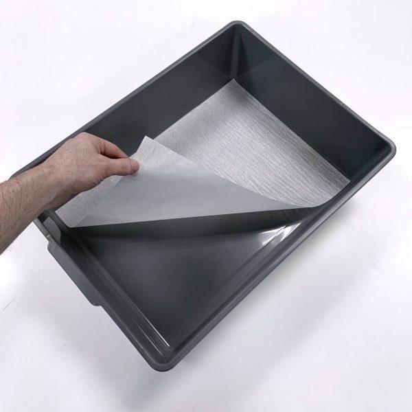 V-35 breeding tub liner in gray tub