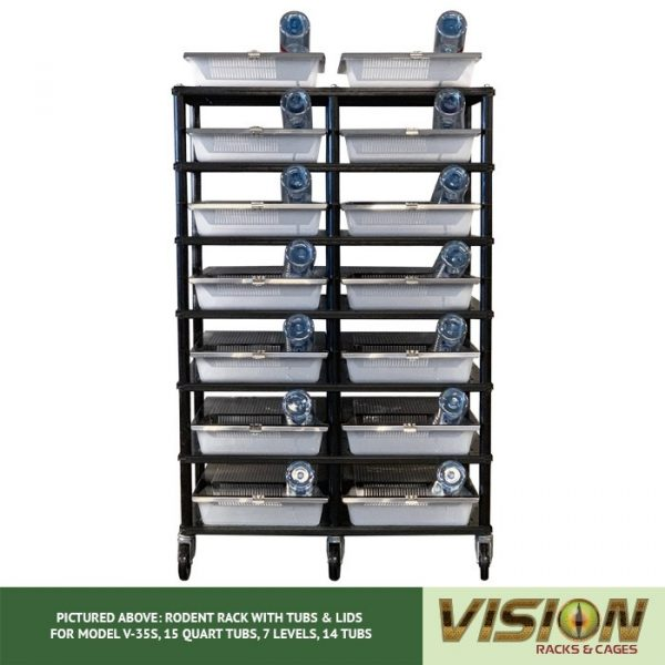 Vision Products 7 Level V-35S Mouse Breeding Rack