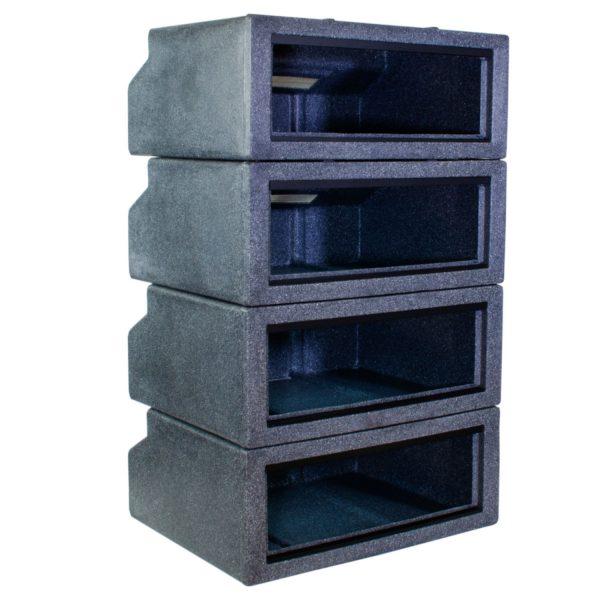 Vision Cage Model 221 - Black Granite - Stack