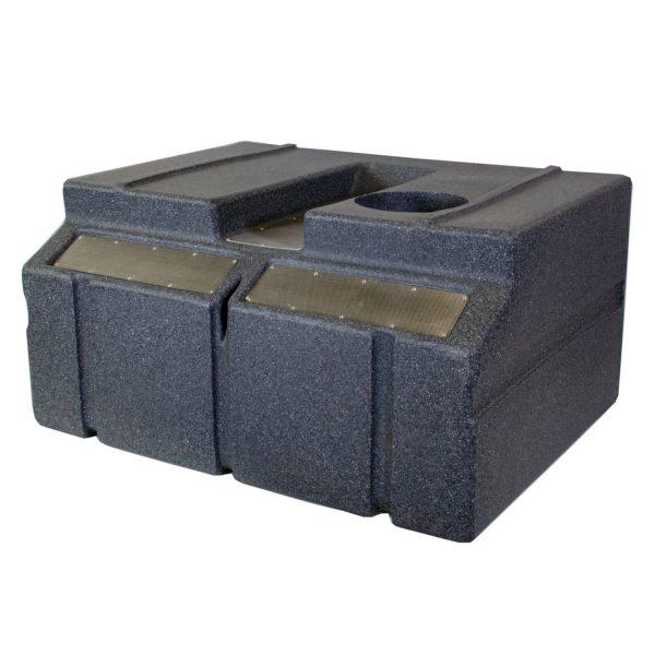 Vision Cage Model 332 - Black Granite - Back