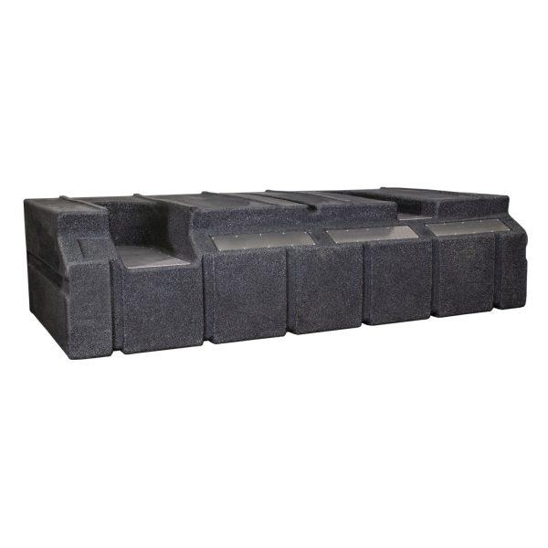 Vision Cage Model 632 - Black Granite - Back