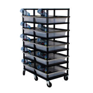 Vision Products 5 level rodent breeding rack for V-35S tubs