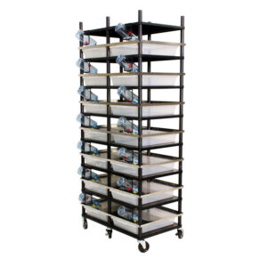 Vision Products 7 level rodent breeding rack for V-35S tubs